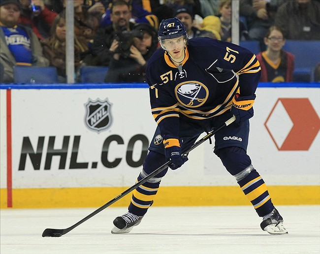 Tyler Myers from the Sabres