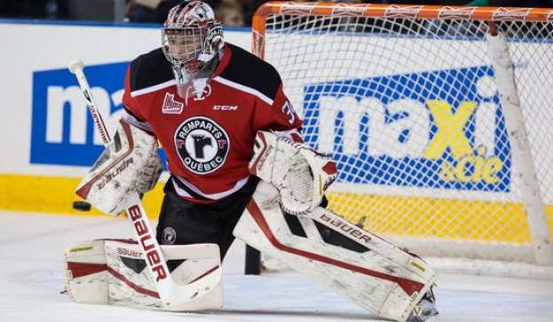 Quebec Remparts Goaltender - Callum Booth