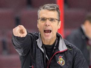 Dave cameron remains with Ottawa Senators