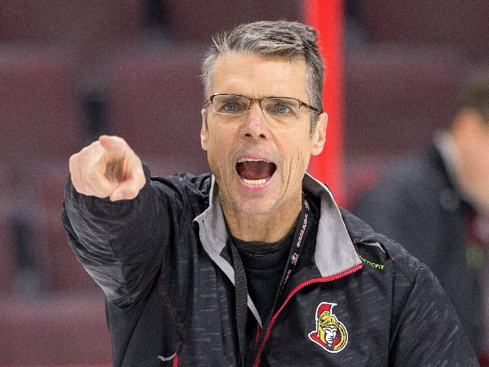 Dave cameron remains with Ottawa Senators
