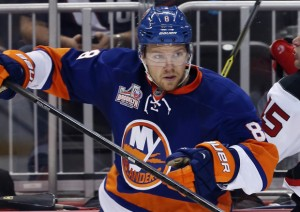 Griffin Reinhart with the Oilers