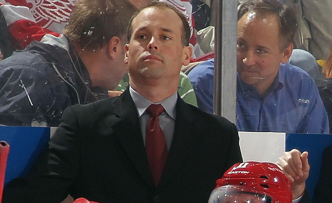 Jeff Blashill - Head Coach Detroit Red Wings