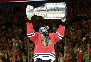 Johnny Oduya may have played his last game with the  Blackhawks