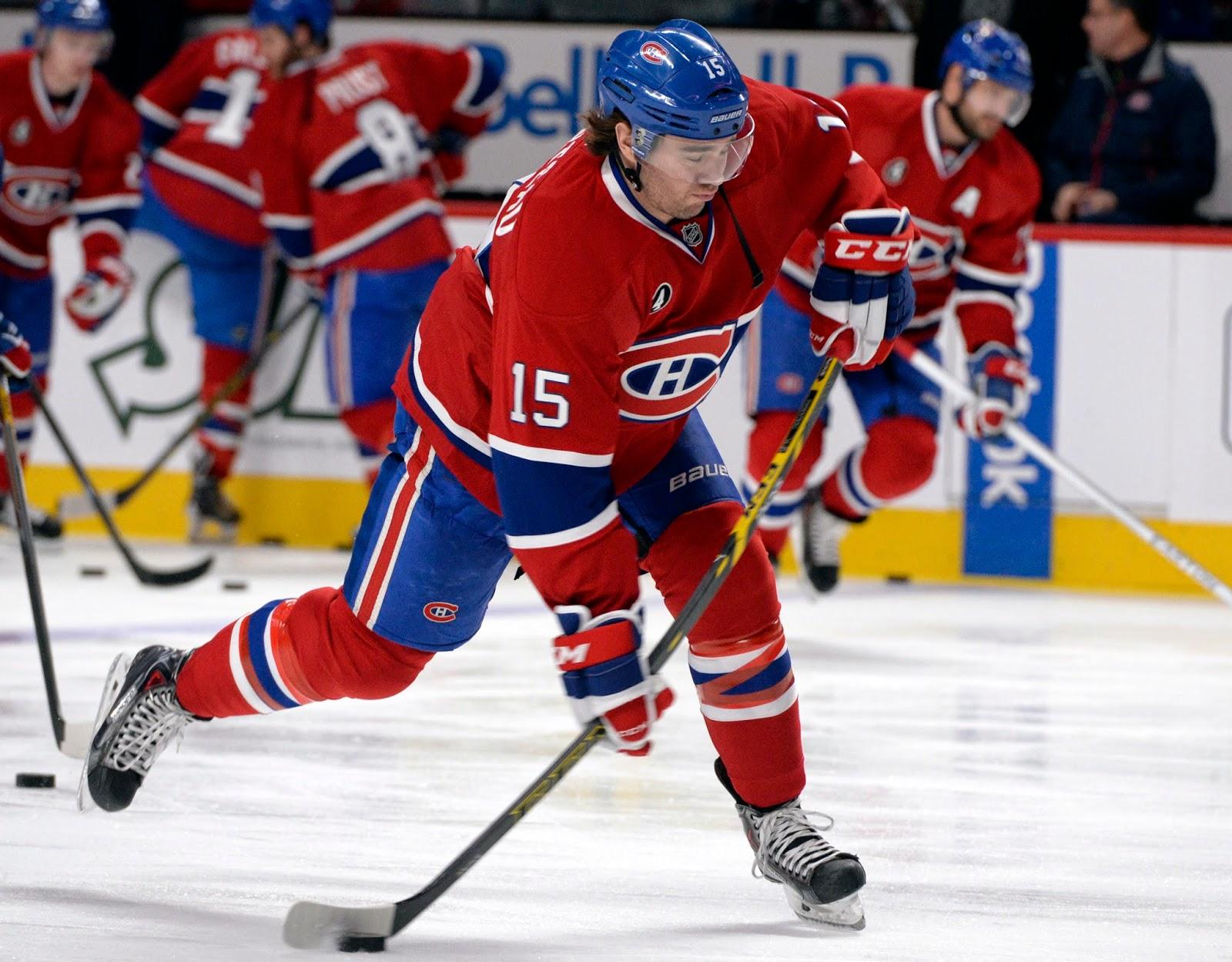 Montreal Canadiens - P-A Parenteau