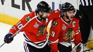 Patrick Sharp may be a cap casualty for Chicago.