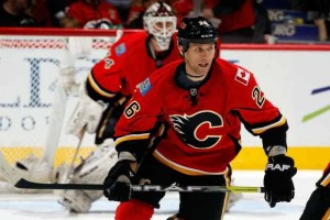 Calgary Flames Dennis Wideman