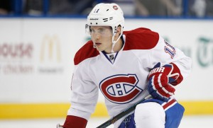 Montreal Canadiens Right Winger Brendan Gallagher