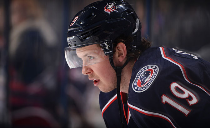 Columbus Blue Jacket Center Ryan Johansen