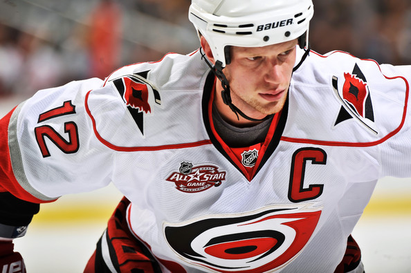 Eric Staal Traded to New York
