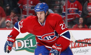 Montreal canadiens forward Dale Weise