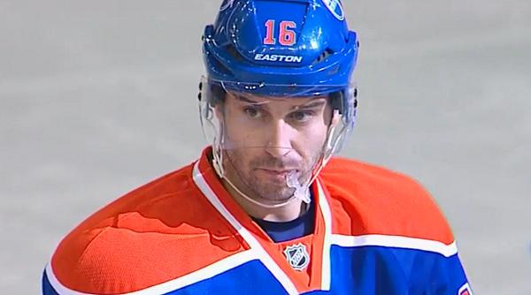 Edmonton Oilers Forward Teddy Purcell