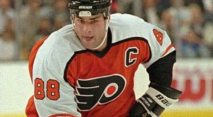 Newly Inducted Hall of Famer Eric Lindros