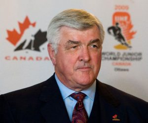 Pat Quinn inducted into the Hall of Fame