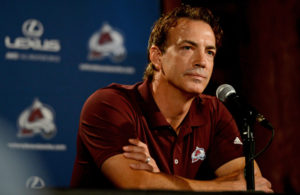 Joe Sakic of the Colorado Avalanche - Off Season Plan