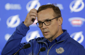 Tampa Bay Lightning General Manager Steve Yzerman